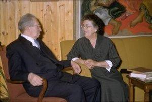 Рахель з чоловіком