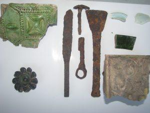 Артефакти 16-8 ст. виявлені археологами на Малинському городищі